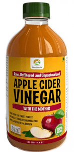 NutrineLife Pure and Natural Apple Cider Vinegar ACV with Mother