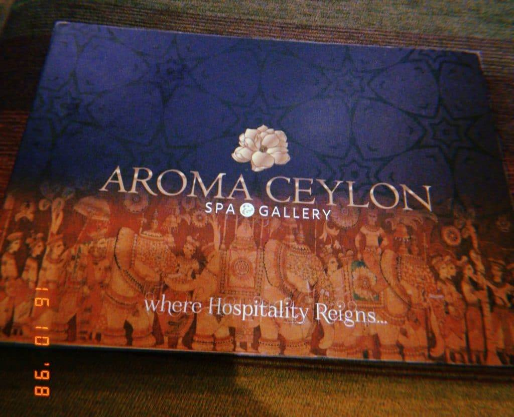 aroma ceylon gurgaon - purnima