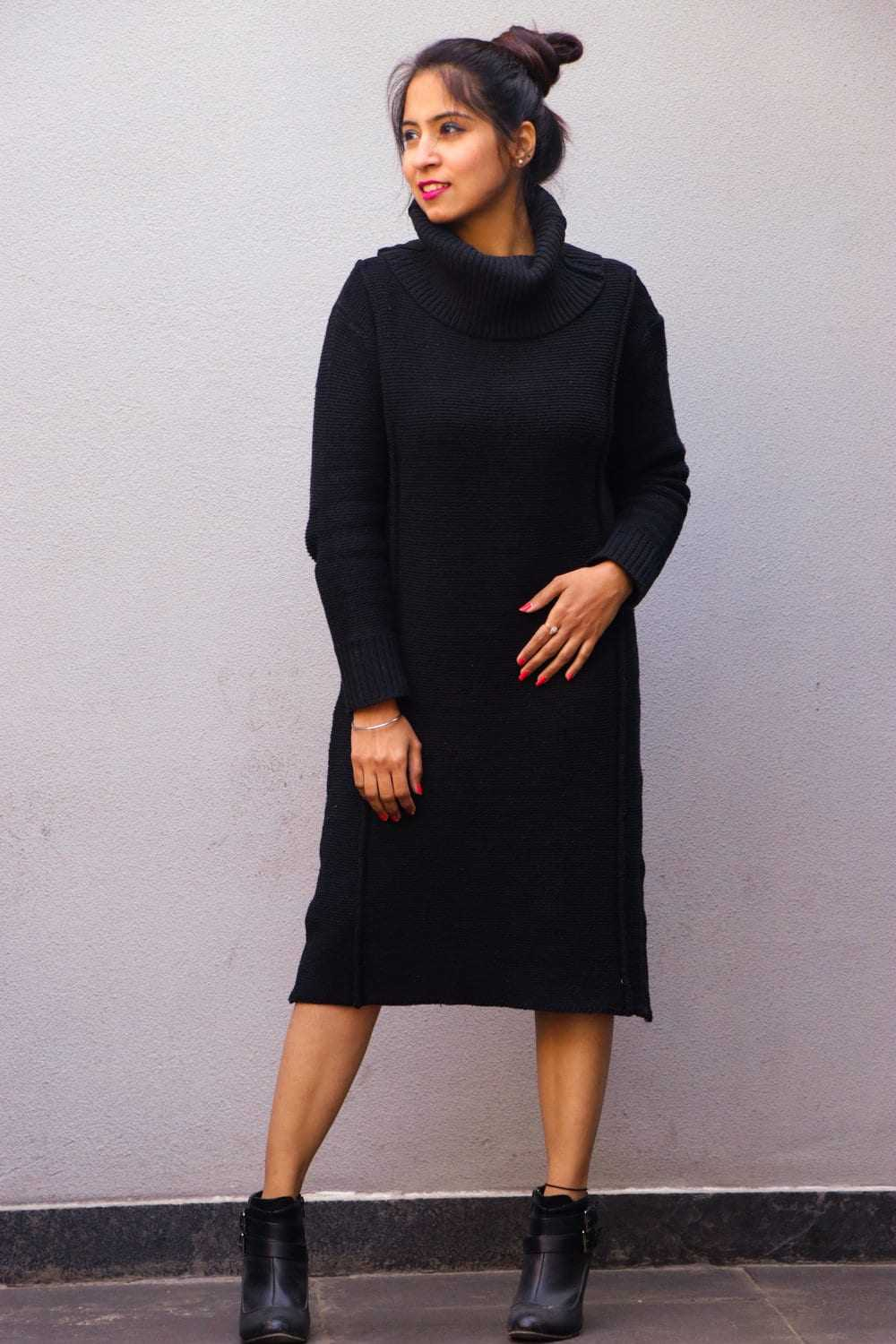 shein sweater dress