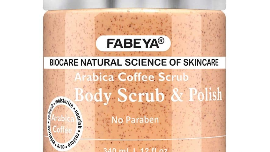 Fabeya Arabica coffee body scrub and polish Review