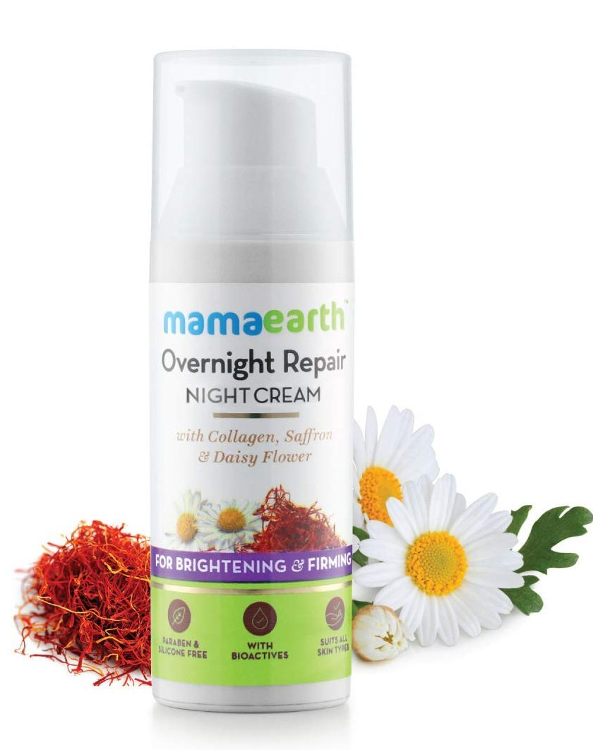 mamaearth night cream review