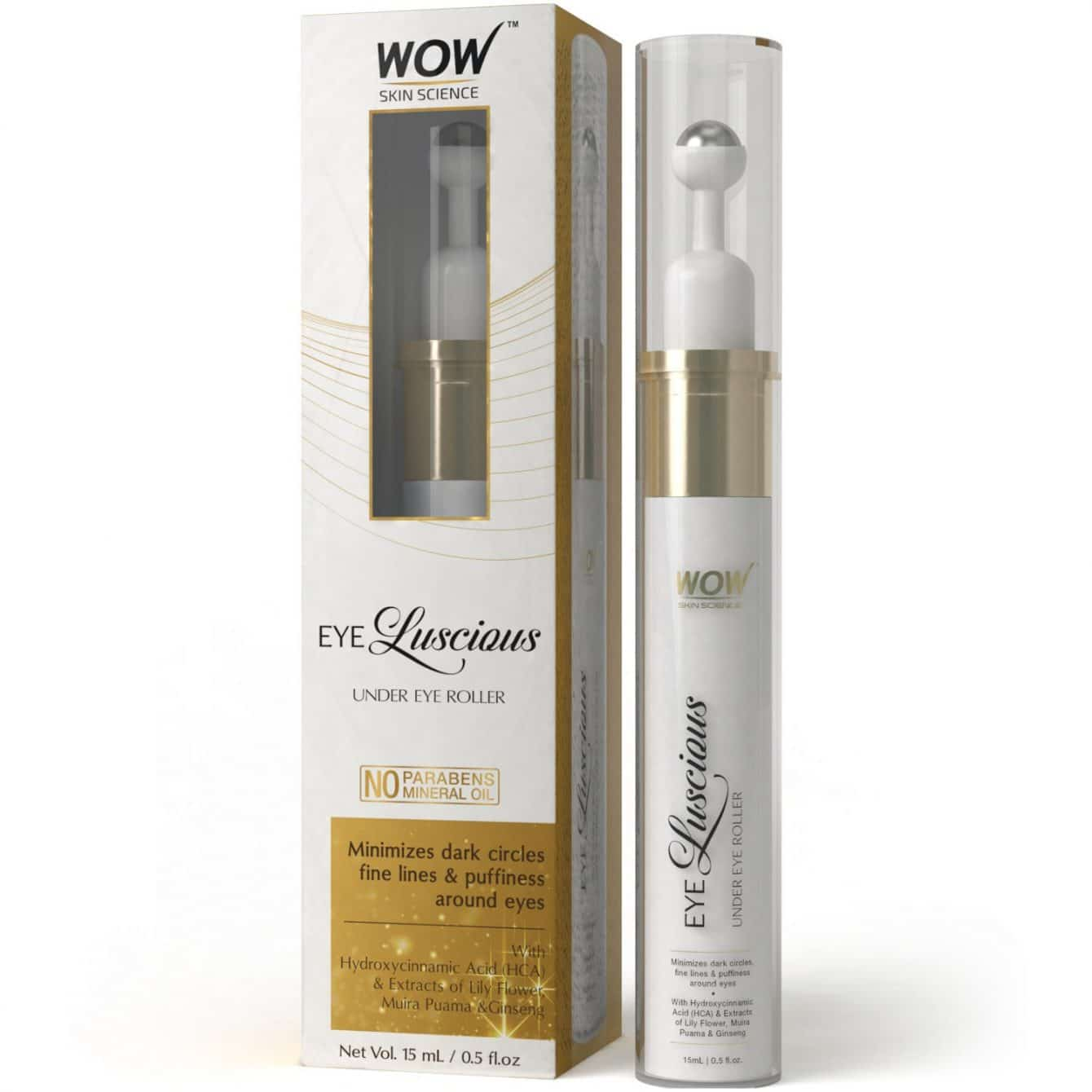 wow under eye roller review