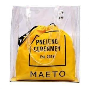 transparent handbags for women