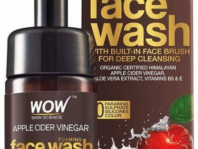 Wow Organic Apple Cider Vinegar Foaming Face Wash Review
